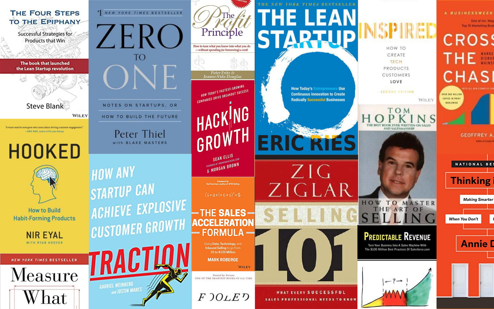 The Must-Read Book List for Building New Product Ventures